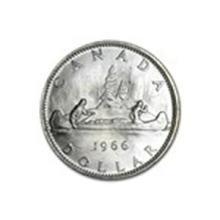 1958-1967 Canada Silver Dollar AU/BU #13928v2