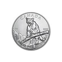2012 Canada 1 oz Silver Wildlife Series Cougar #13915v2