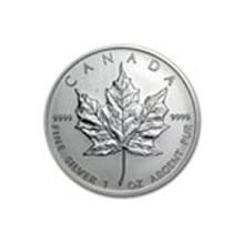 2004 Canada 1 oz Silver Maple Leaf BU #13923v2