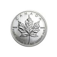 2008 Canada 1 oz Silver Maple Leaf BU #13927v2