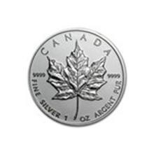 2009 Canada 1 oz Silver Maple Leaf BU #13926v2