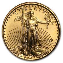 1997 1/10 oz Gold American Eagle BU #33909