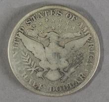 US Half Dollar Silver Coin 1907