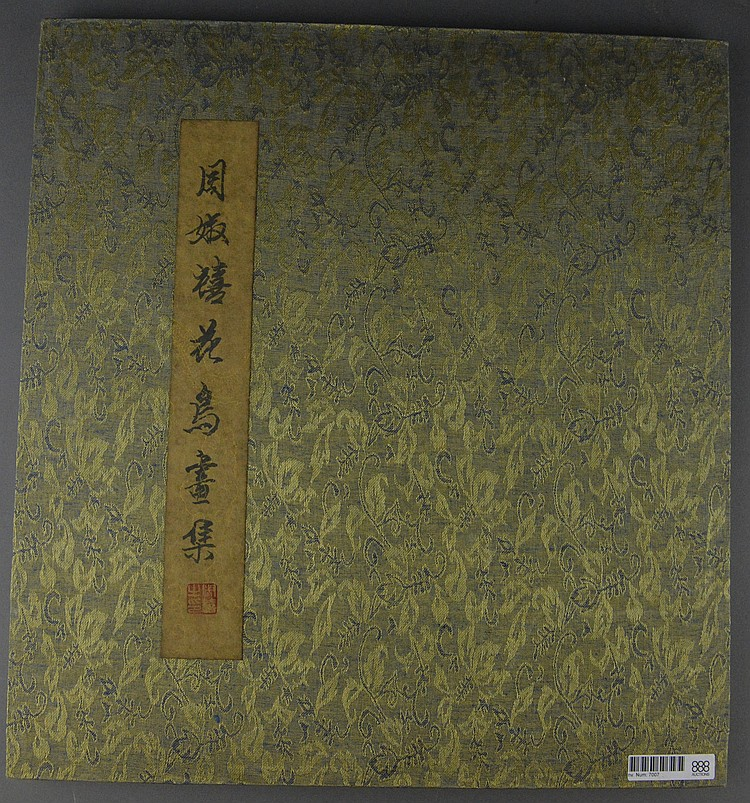 Fine Chinese Painting Book Zhou Shu Xi