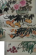 Chinese Still Life Painting Zhu Qizhan 1892-1996