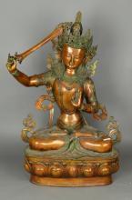 Very Large 19th/20th C. Chinese Bronze Amitayus