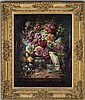Zatzka, Hans, STILL LIFE WITH FLOWERS, oil on canvas