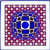 Victor Vasarely, (French/Hungarian, 1906-1997)