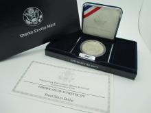 1996 Law Enforcement Commemorative Silver