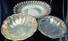 3 Silver Plated Items Reed & Barton & Rogers