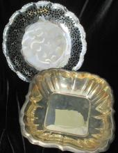 Lot of 2 Serving Dishes Reed & Barton