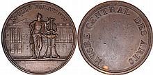 France. Directoire (1795-1799). Ae Function Medal, ''Musée Central des Arts'',