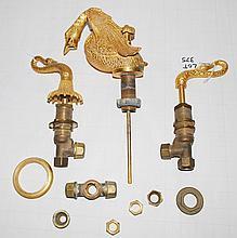Cast Brass Swan Faucet