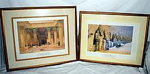 Two Ancient Egypt Prints
