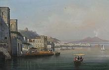 GIOACCHINO LA PIRA (Act.1839-1870) Vues animées de Naples