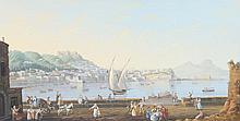 VINCENZO SMIRAGLIA Vues animées de Naples