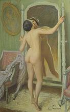 JACQUES WEISMANN (France 1878) Le baiser au miroir