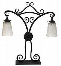 GRANDE LAMPE DE TABLE, France ca.1930