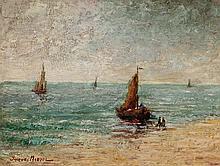 JACQUES MADYOL (1871-1950) Le retour des pêcheurs
