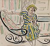 HENRI BAPTISTE LEBASQUE (1865-1937)  Femme au rocking-chair, Henri Lebasque, €1,200