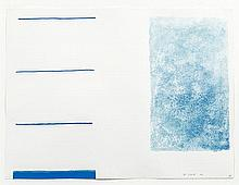 William Scott RA (1913-1989) Abstract in Blue
