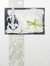 Patrick Hickey HRHA (1927-1998) Letter G Etching,