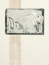 Patrick Hickey HRHA (1927-1998) Letter H Etching,