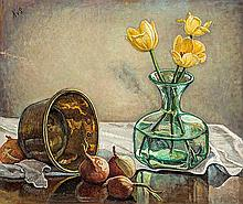 Hilda van Stockum HRHA (1908-2006) Still Life with