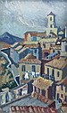 Dorothy Blackham (1896-1975) The Old Town Orvie