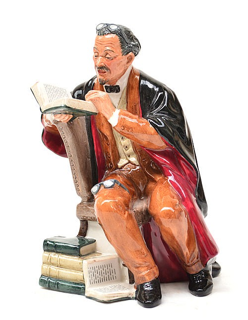 A Royal Doulton figure ''The Professor''.