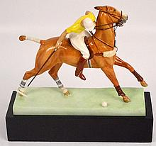 A Royal Worcester figure; 3163 ''The Polo