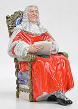 A Royal Doulton figure; HN2443 ''The Judge''.