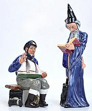 Two Royal Doulton figures; HN2877 ''The Wizard''