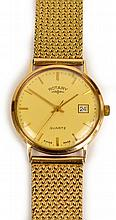 A gentleman's vintage 9ct gold Rotary wristwatch