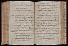 [Dovaston, John]  2 volumes of manuscript Legal Cases and Precedents