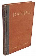 Grimke, Angelina.  Rachel:  A Play n Three Acts