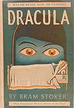 Stoker, Bram.  Dracula.  In Art Deco Jacket