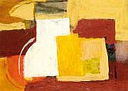 Georges VINCE (1913-1991) Composition Gouache.
