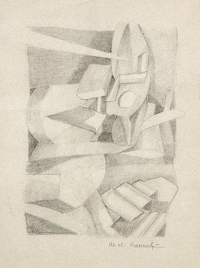 Abel RENAULT (1903-1991) Composition