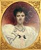 Léon BONNAT (1834-1922) Portrait de femme, 1905