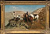 Wierusz-Kowalski Alfred - CAUCASIAN RECCE, 1880, oil, canvas