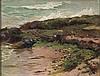 Ruszczyc Ferdynand - SEA SHORE AT RUGIA ISLAND, 1896, oil, canvas on cardboard