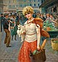 Maurice MILLIÈRE (1871-1946) «Jeune femme au