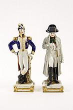 Two Samson Porcelain Figures from French History