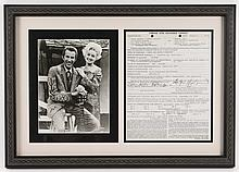 Dolly Parton, Porter Wagoner Booking Contract '75