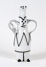 Nason for Mazzega Art Glass Vase After Picasso