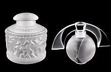 2 Lalique Perfume Bottles