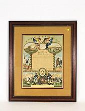 Civil War Union Soldier Hon. Discharge Certificate