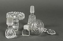 Collection of Over 32 Glass & Crystal Stoppers
