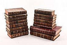 Group of 16 18th/19th Century Leather Bound Books